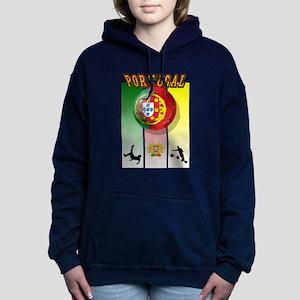 Portugal Football Soccer Hooded Sweatshirt