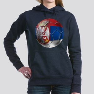 Serbian Football Hooded Sweatshirt