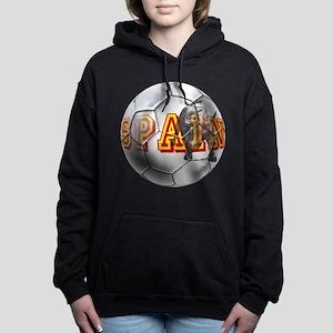 Spanish Soccer Ball Hooded Sweatshirt