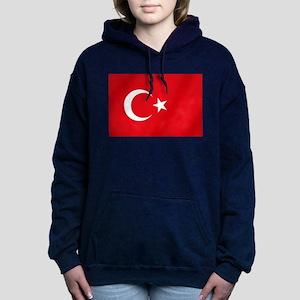 Flag of Turkey Hooded Sweatshirt