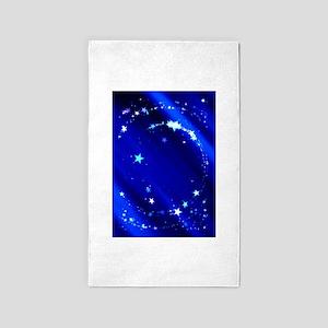 Blue Starry Sky 3'x5' Area Rug
