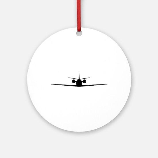 Cessna Citation Excel (front) Round Ornament