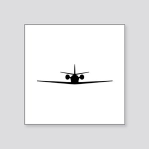"Cessna Citation Excel (fron Square Sticker 3"" x 3"""