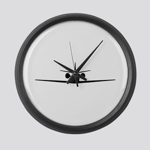 Cessna Citation Excel (front) Large Wall Clock