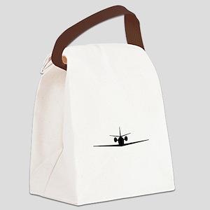 Cessna Citation Excel (front) Canvas Lunch Bag