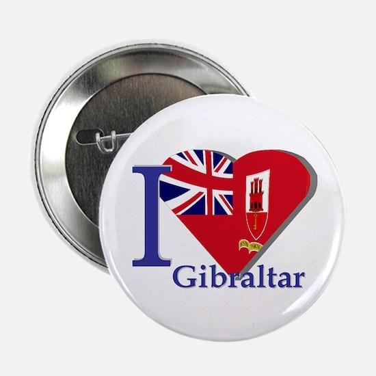 I love Gibraltar Button