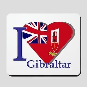 I love Gibraltar Mousepad