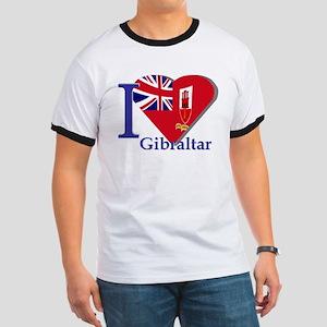 I love Gibraltar Ringer T