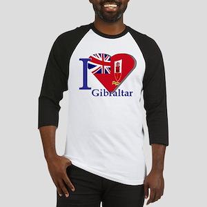 I love Gibraltar Baseball Jersey