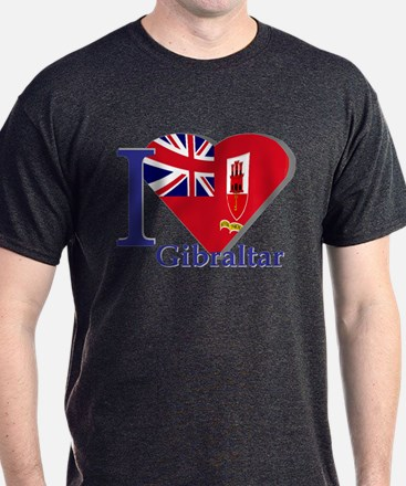 I love Gibraltar T-Shirt