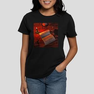 Personalizable handwritten le Women's Dark T-Shirt