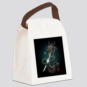 Dragon Katana01 Canvas Lunch Bag
