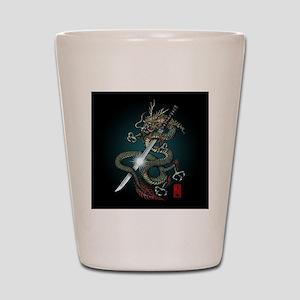 Dragon Katana01 Shot Glass