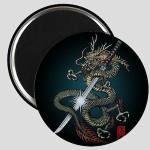 Dragon Katana01 Magnet