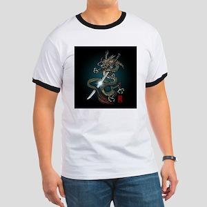 Dragon Katana01 Ringer T