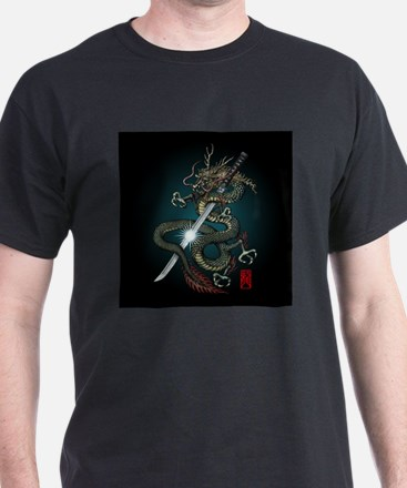 Dragon Katana01 T-Shirt