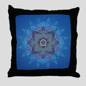 Kali Yantra-Mandala Throw Pillow