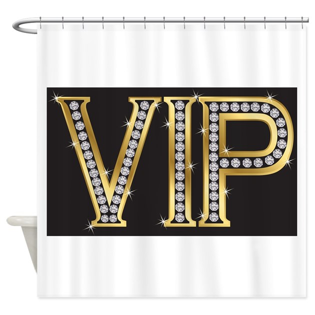 Amazon Kitchen Curtains Discount Store: Shower Curtain: VIP Bling By TheHappyHome1
