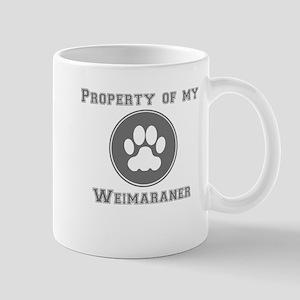 Property Of My Weimaraner Mugs