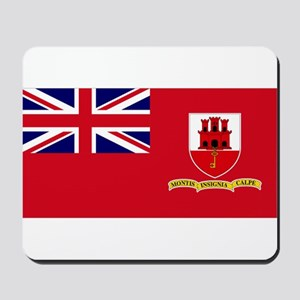 Gibraltar civil ensign Mousepad