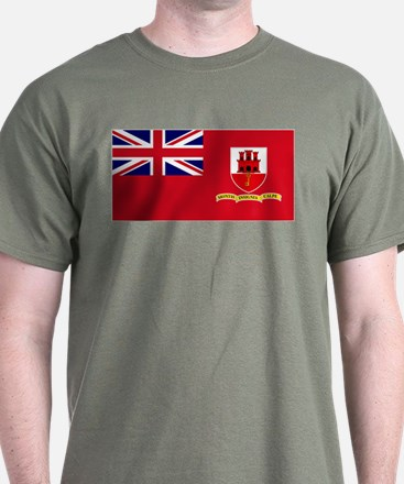 Gibraltar civil ensign T-Shirt