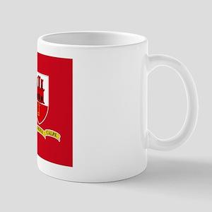 Gibraltar civil ensign Mug