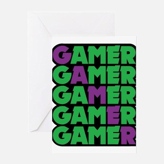 Gamer Greeting Cards