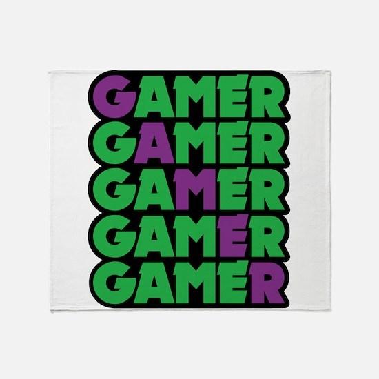 Gamer Throw Blanket