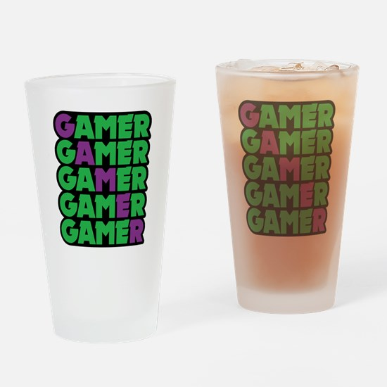 Gamer Drinking Glass