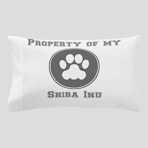 Property Of My Shiba Inu Pillow Case