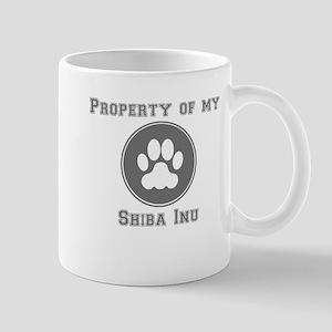 Property Of My Shiba Inu Mugs