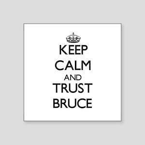 Keep calm and Trust Bruce Sticker
