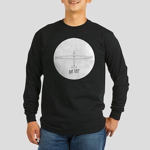 Got Lift? (top) Long Sleeve Dark T-Shirt