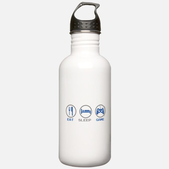 Eat Sleep Game Sports Water Bottle