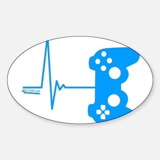 Gamer Heart Beat Decal