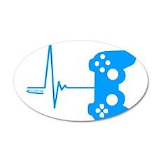 Gamer Heart Beat Wall Sticker