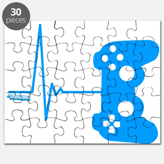 Gamer Heart Beat Puzzle