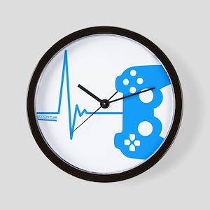 Gamer Heart Beat Wall Clock