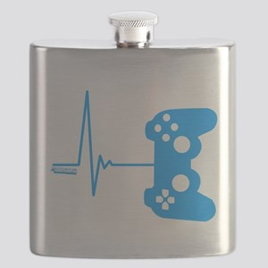 Gamer Heart Beat Flask