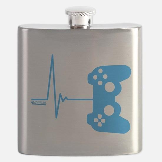 Gamer Heart Beat Flask