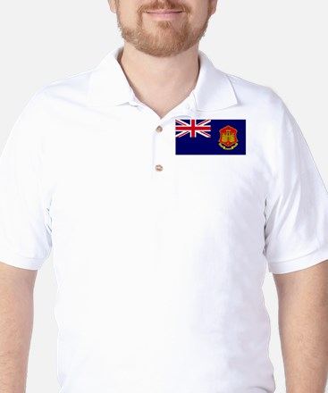 Gibraltar gov ensign Golf Shirt