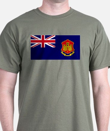 Gibraltar gov ensign T-Shirt