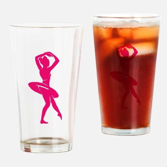 BALLET [20pink] Drinking Glass
