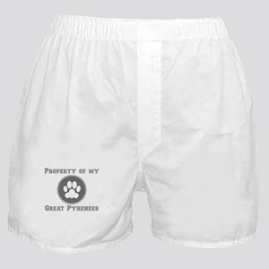 Property Of My Great Pyrenees Boxer Shorts