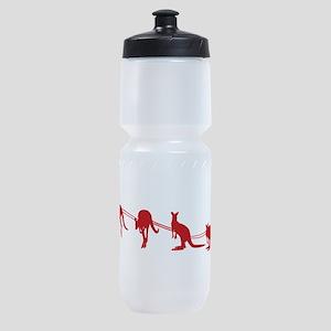 Kangaroo Santa Sports Bottle