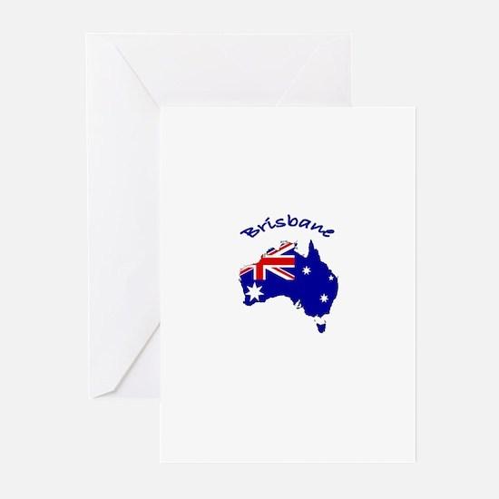 Brisbane, Australia Greeting Cards (Pk of 10)