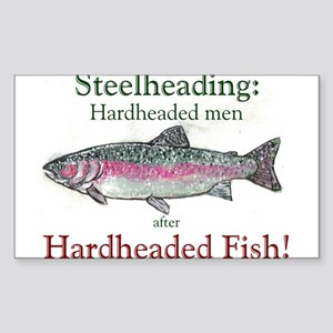 steelheading Rectangle Sticker