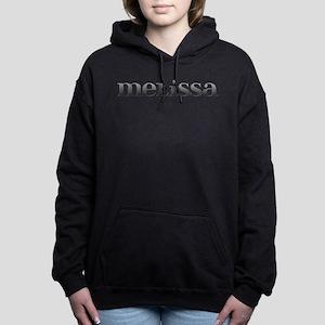 Melissa Carved Metal Hooded Sweatshirt