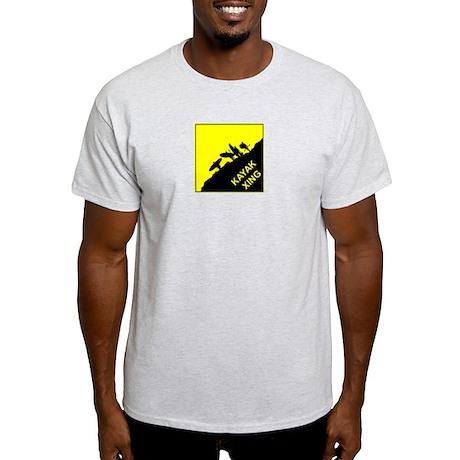 Kayak Xing Ash Grey T-Shirt