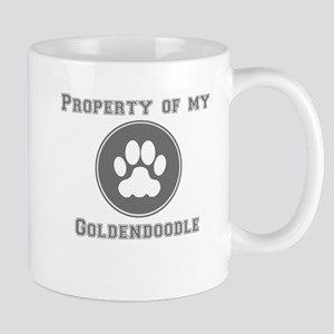 Property Of My Goldendoodle Mugs